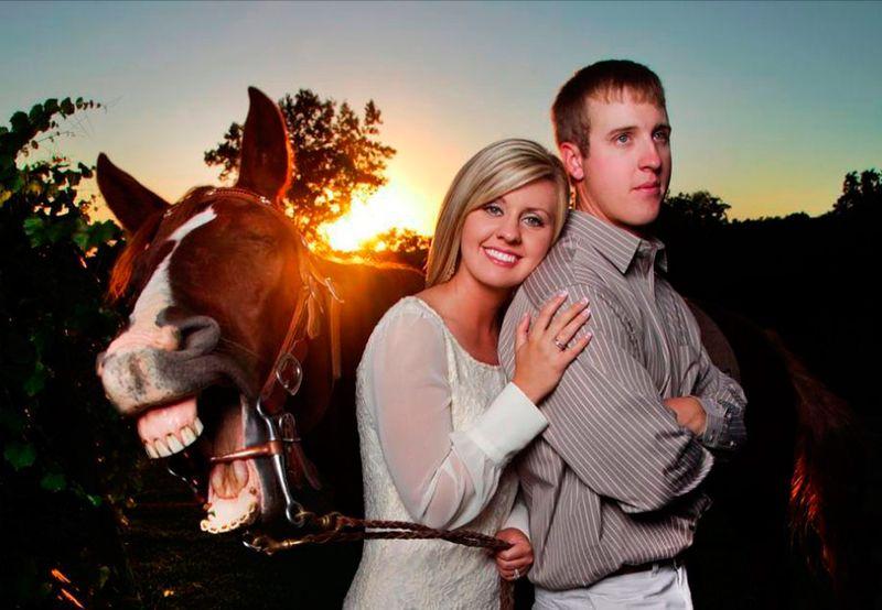 Фанни фото влюбленная пара, выражение лица, крутое фото, лошадь