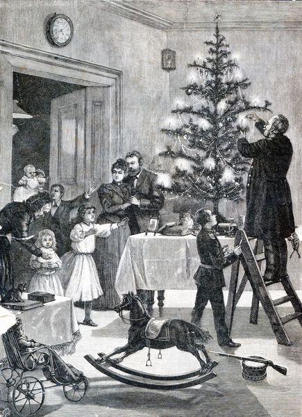 старый новый год, праздник, елка