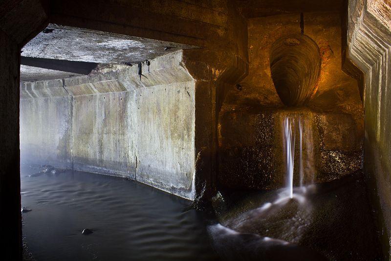 фотографии подземного озера москвы