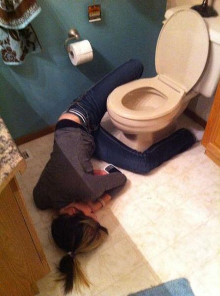 Fotos cómicas de gente borracha Drunk-017