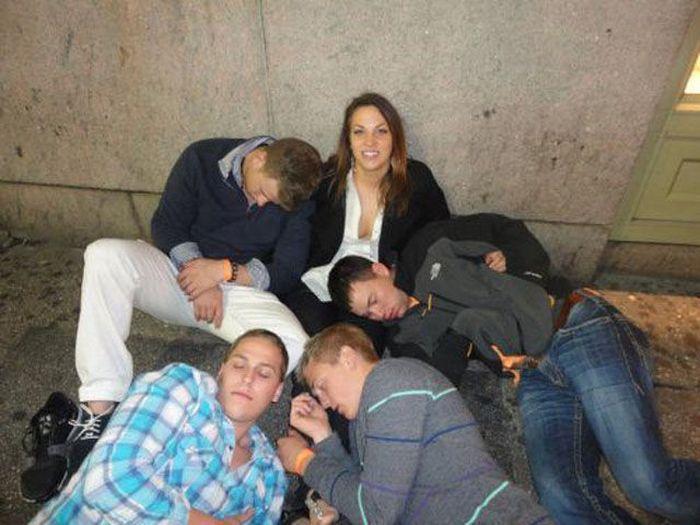 Fotos cómicas de gente borracha Drunk-027