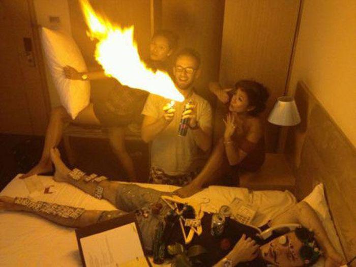 Fotos cómicas de gente borracha Drunk-043