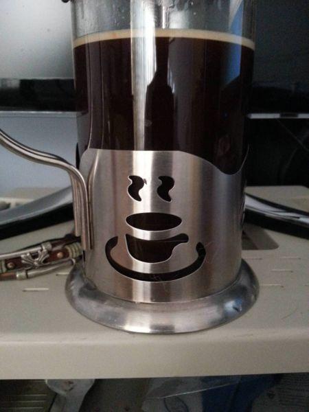 Фотоприкол бесплатно кофе, рисунок, чайник, чашка