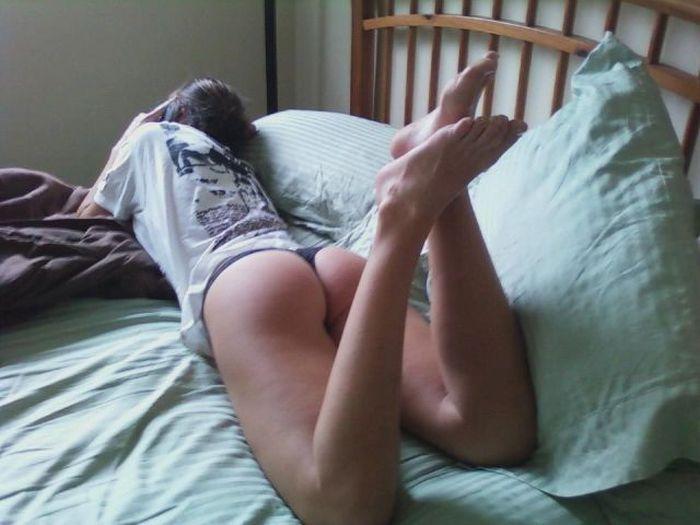 Фото секса в женскую попку, порно видео домашка hd