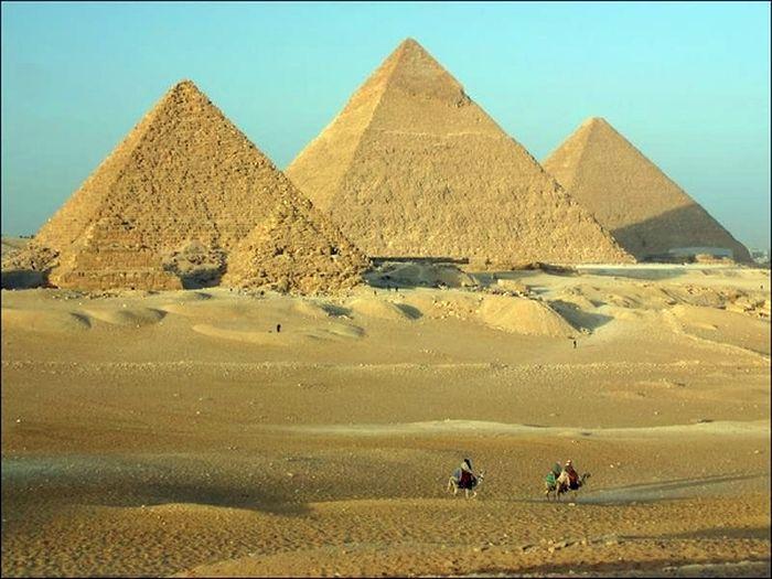 пирамиды, египет, гиза,