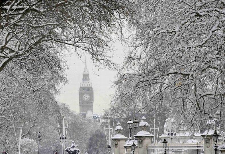сообщили, фото снег в лондоне новые материалы