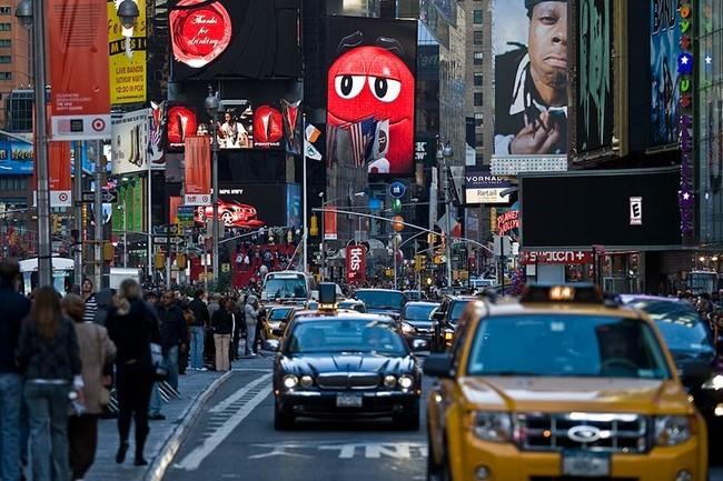 Реклама в Нью-Йорке (25 фото)