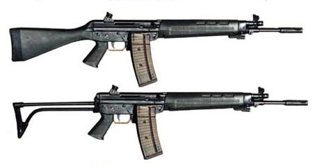 Модели с 510 по 540 неплохо продавались на экспорт, но для армии на их базе была разработана SIG 550, она же Fass 90, она же Stgw 90. На её базе родилось целое семейство оружия, в том числе и вариант укороченного 552-го под патрон 7.62 NATO, и оружие спецподразделений SG 553. Винтовка очень неплоха , надёжна, точна и удобна.