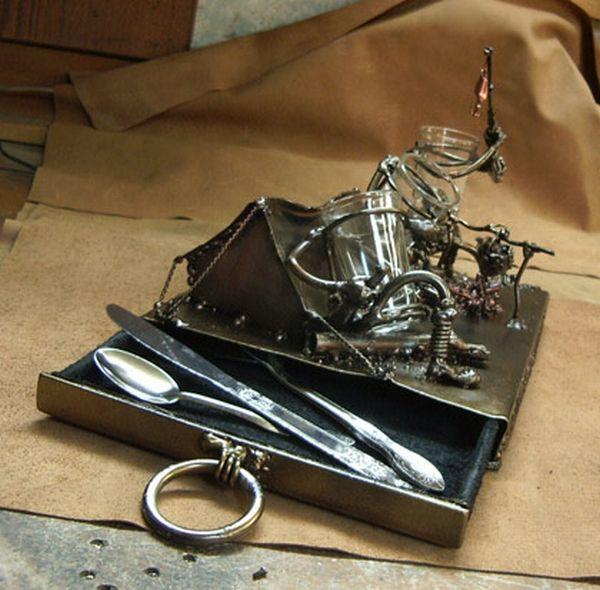 Подарок своими руками из металла