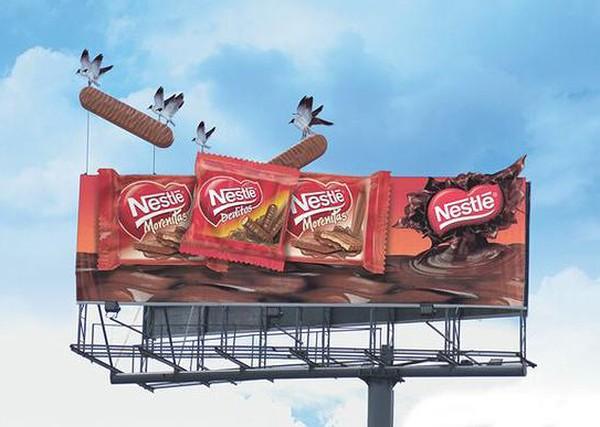 fbafc5504c5188 Самые необычные рекламные щиты в мире (14 фото)