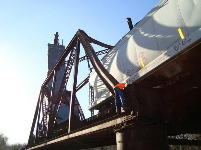 Магия на мосту (7 фото)