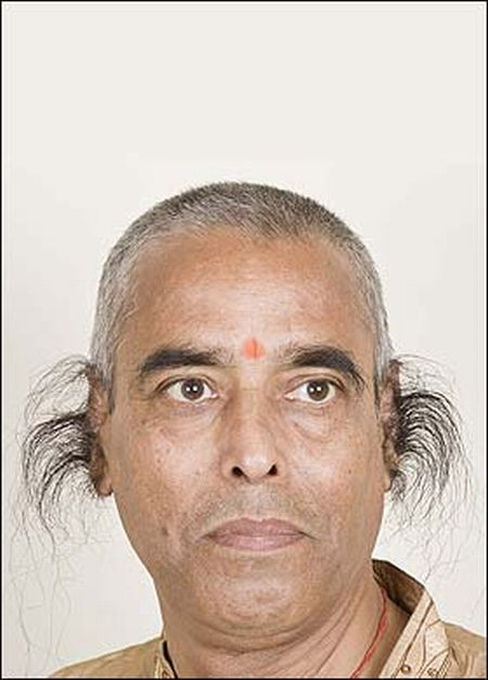 Волосы длинные на лобке