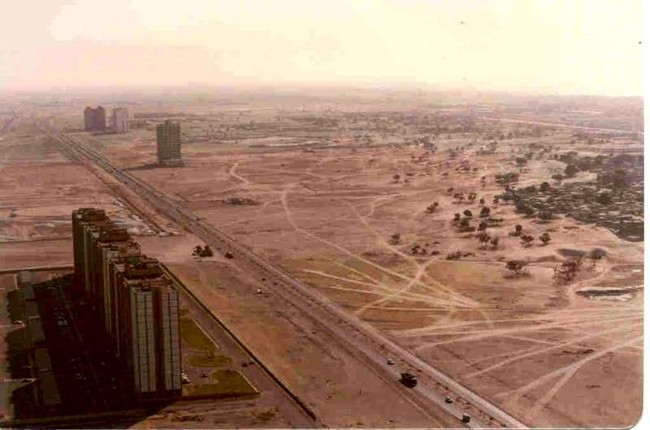 Дубаи 1990-2008 (8 фото)