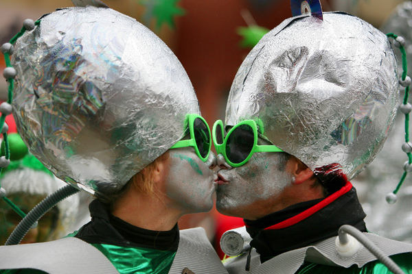 Карнавалы в Германии и Венеции (69 фото)