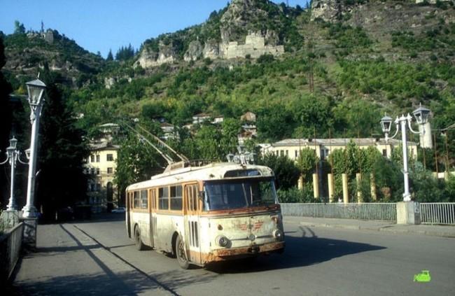 Троллейбусы Грузии (11 фото)