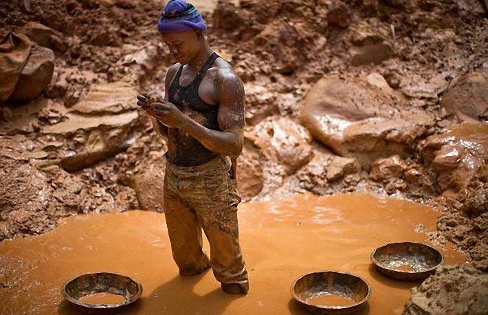 Добыча золота своими руками фото