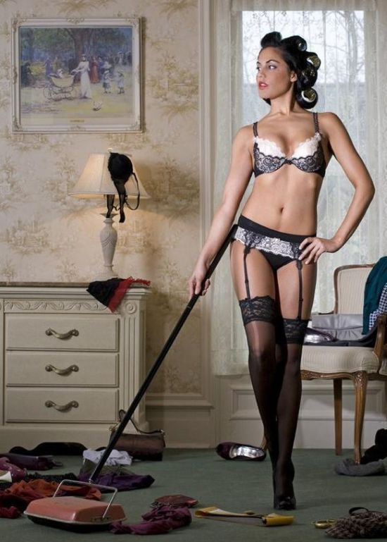 Dona de casa sedutora (34 fotos)