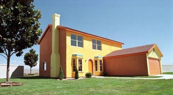 Реальный дом Симпсонов (9 фото)