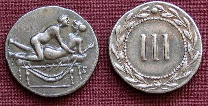 Древнейшие монеты Рима (10 фото)