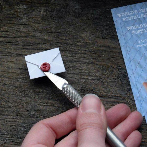 Самая маленькая в мире почта (10 фото+видео)