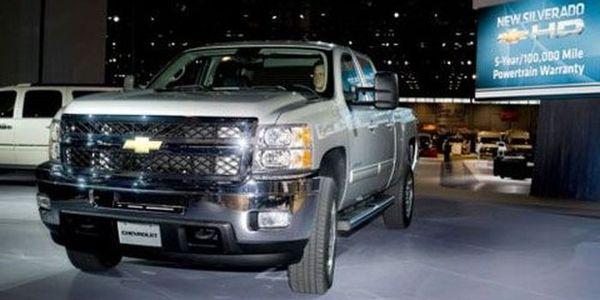 Новый Silverado Heavy-Duty от Chevrolet (4 фото)