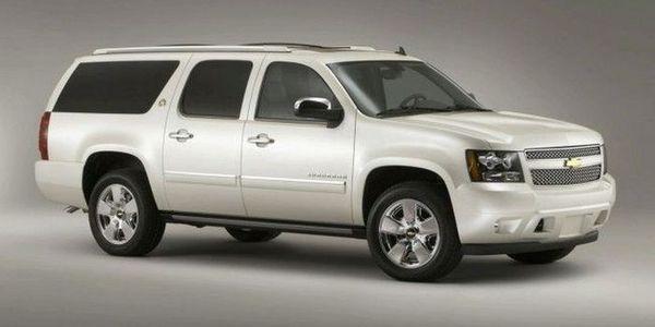 Новый Chevrolet Suburban (3 фото)