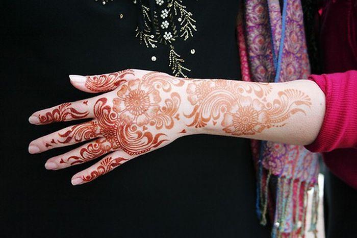 Татуировки хной (79 фото)
