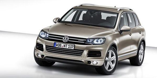 Новый Volkswagen Touareg (6 фото)