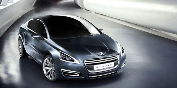 Концептуальный седан 5 от Peugeot (6 фото)