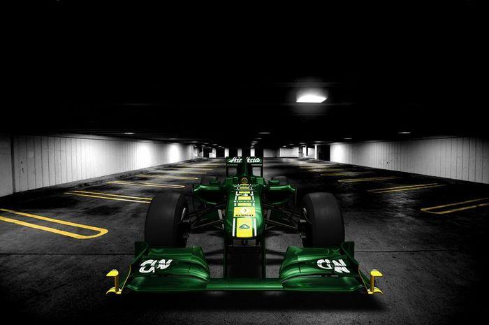 Виртуальная презентация болида Lotus T128 (4 фото)