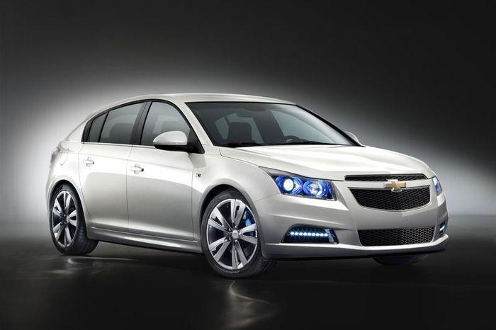 Chevrolet Cruze хэтчбек будет показан в Женеве (3 фото)