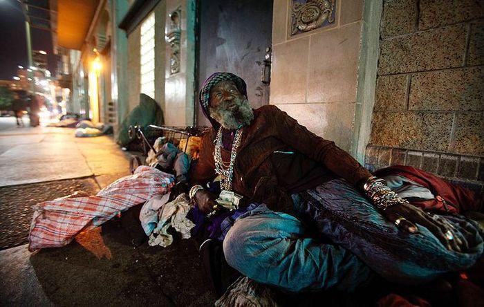 Перепись бездомных в Лос-Анджелесе (8 фото)