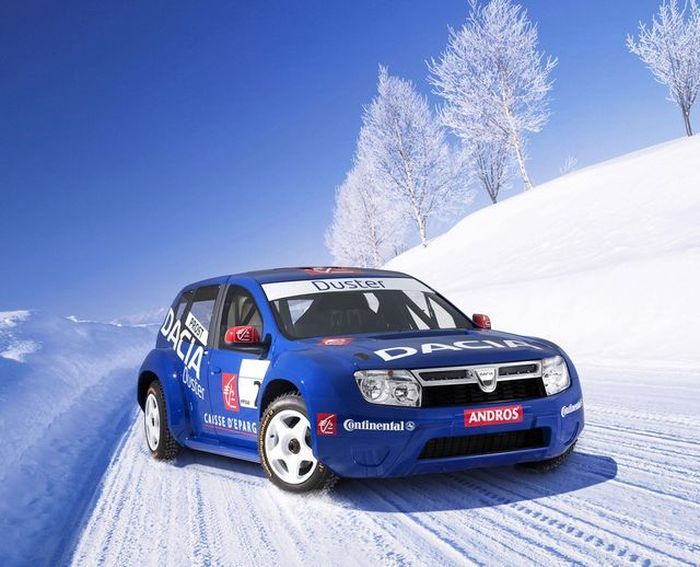 850-сильная Dacia составит конкуренцию 5-кратному чемпиону (5 фото+видео)