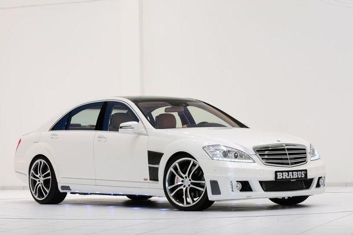 Brabus увеличили мощность Mercedes S 350 BlueTec (7 фото)