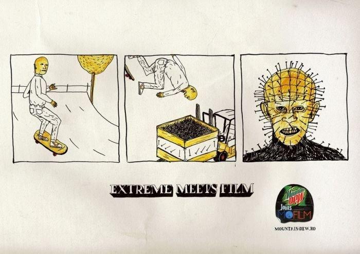 Креатив от румынского рекламного агентства (5 фото)