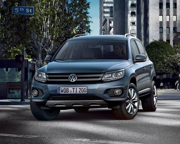 Первые официальные фото нового VW Tiguan (6 фото)