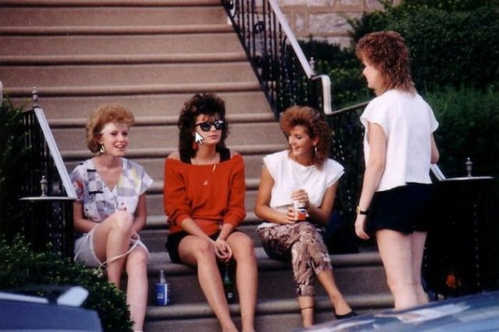 Девушки из 80-х (11 фото)