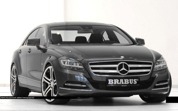 Brabus подготовили тюнинг-пакет для Mercedes-Benz CLS 2012 (8 фото)