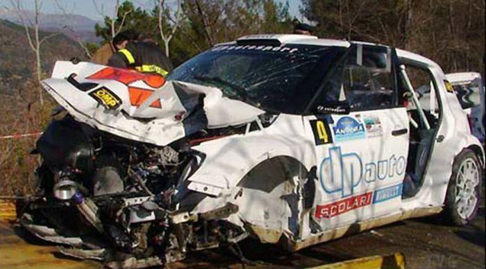 Жизнь Роберта Кубицы, попавшего в аварию, вне опасности (4 фото+2 видео)