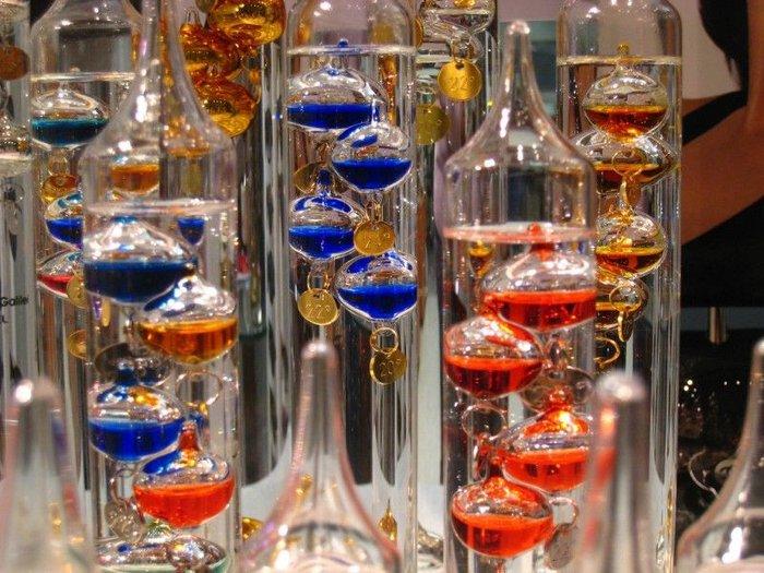 Научная красота: термометр Галилея (13 фото + текст)
