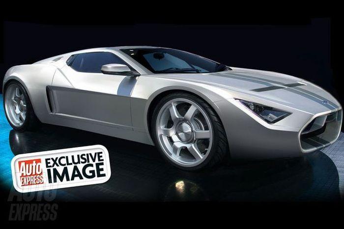 3-поколение Ford GT - он стал гибридом (6 фото)