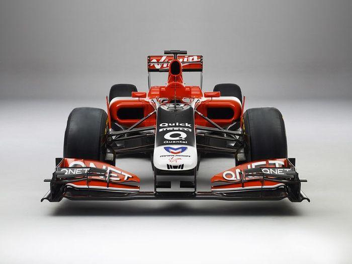 Новый болид MVR-02 от Marussia Virgin Racing (6 фото)