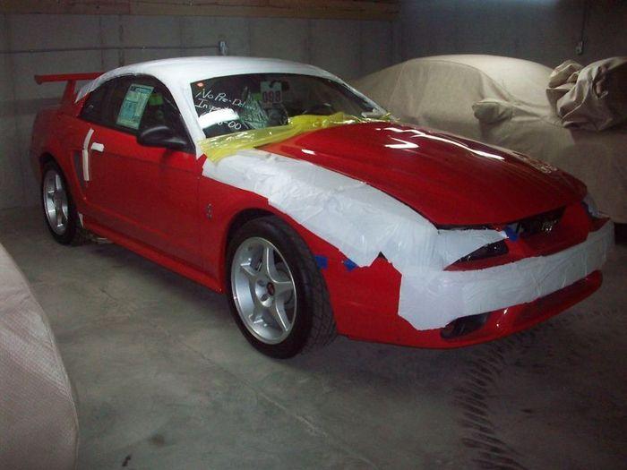 Ford SVT Mustang Cobra R после консервации  за 70000$ (21 фото)