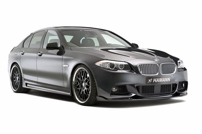 Пакет M-Technik от Hamann для BMW 5 Series в кузове F10 (15 фото)