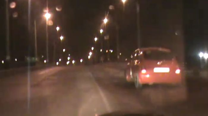 Погоня ДПС за Nissan Micra в Новороссийске (видео)