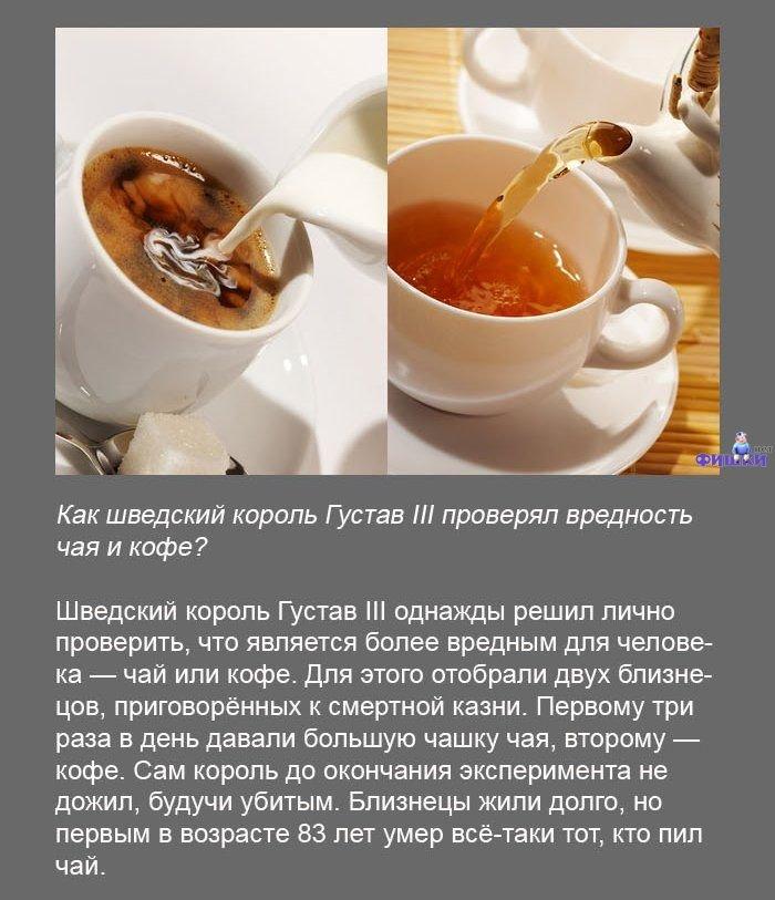 Цитаты про чай и кофе