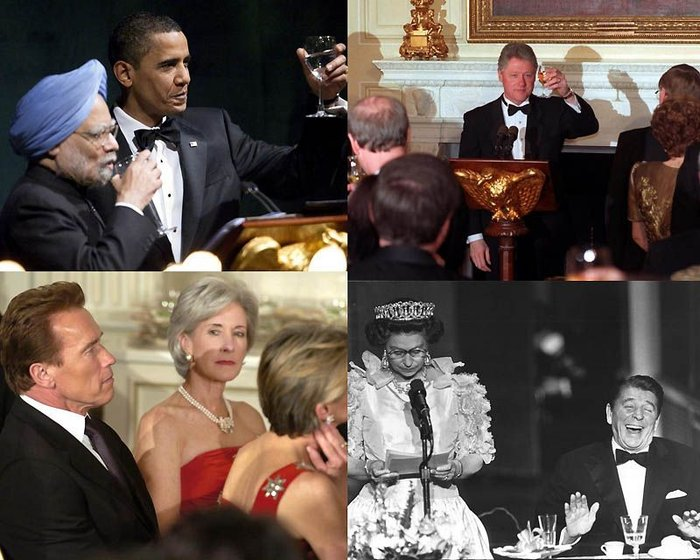 Президентские официальные приемы (18 фото)