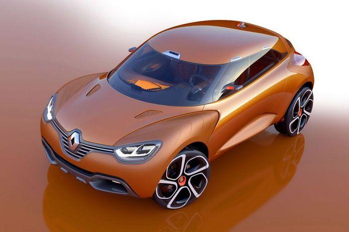 Концептуальный кроссовер Renault Captur (10 фото)