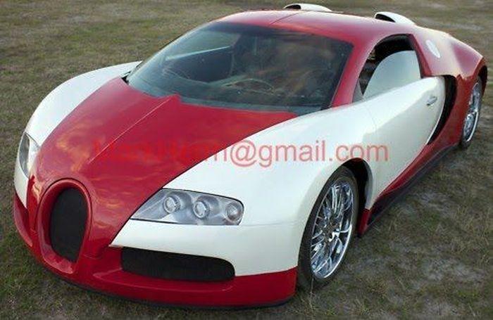 Еще одна реплика на Bugatti Veyron (6 фото)