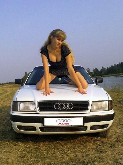Девушки и aвтомобили 38 фото